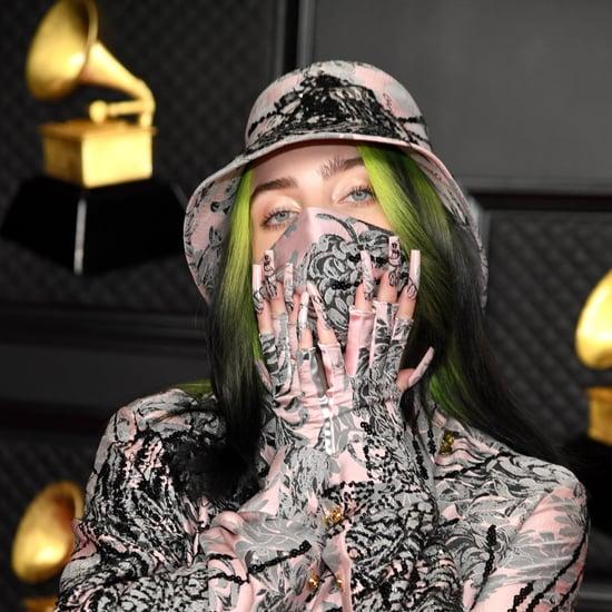 Billie Eilish in Custom Gucci at the 2021 Grammy Awards