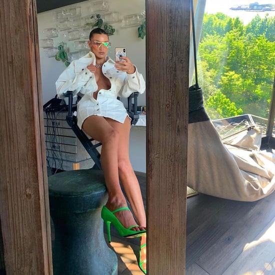 Bella Hadid Fenty Outfit on Instagram