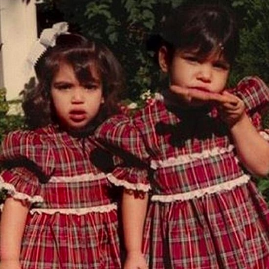 Kris Jenner Throwback Photo of Kim and Kourtney Dec. 2016