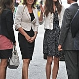 Carole Middleton in April 2011