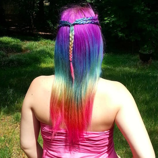 Lisa Frank Rainbow Hair