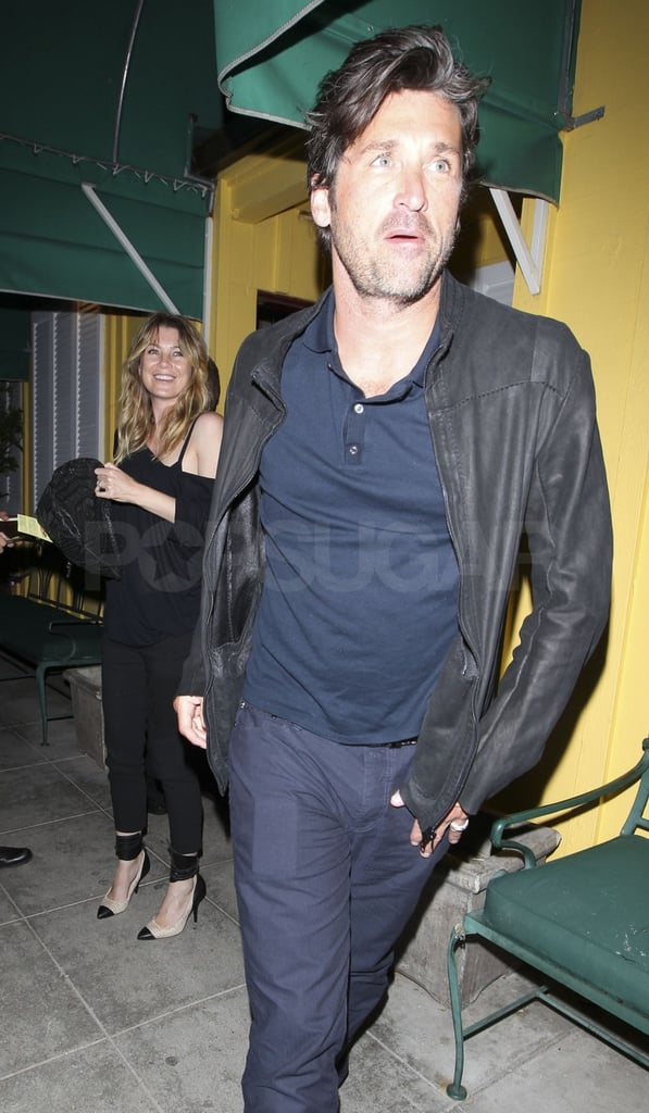 Pictures Of Patrick Dempsey And Ellen Pompeo Leaving Dinner At Dan