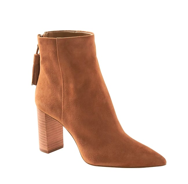 Tassel Zip Ankle Boot
