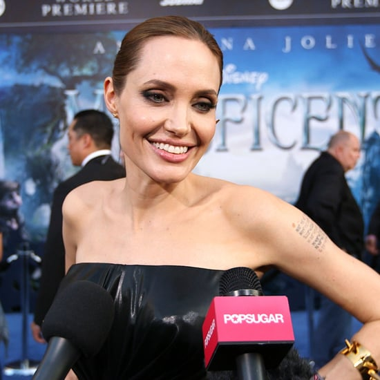 Angelina Jolie Interview at Maleficent Premiere | Video