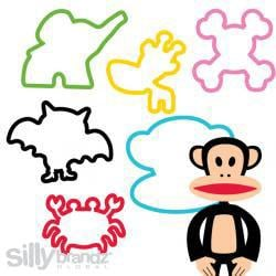 Silly Bandz - Paul Frank Shapes ($5.95)