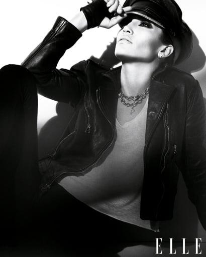 Jennifer Lopez does Elle-february 2010