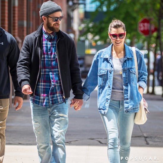 Justin Timberlake and Jessica Biel Out in NYC May 2017