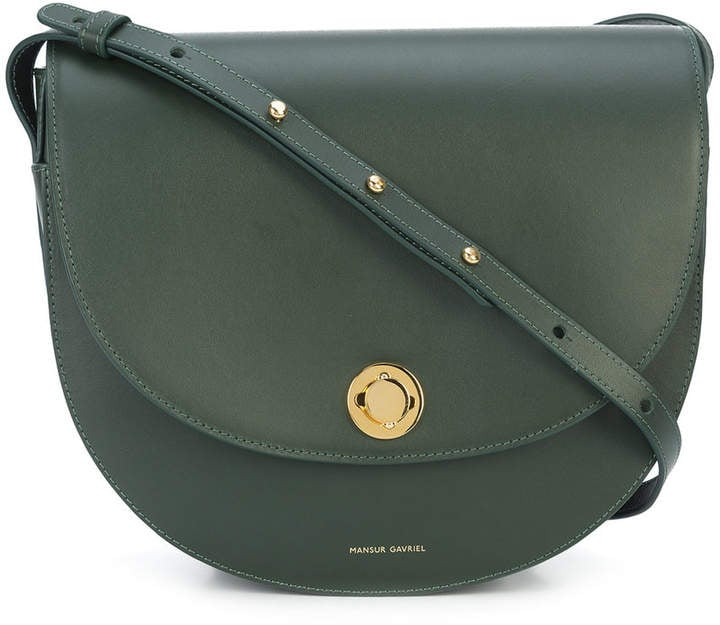 Mansur Gavriel Saddle Shoulder Bag