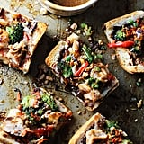Spicy Thai Chicken French Bread Pizza