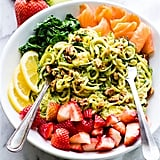 Strawberry Courgette Spaghetti Bowl