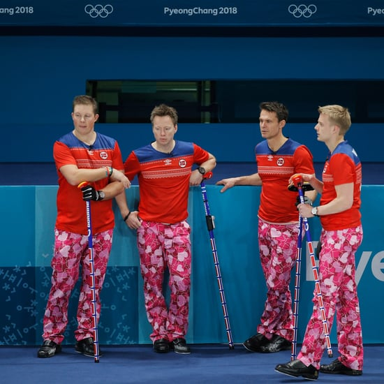 Norwegian Curling Team's Crazy Outfits at 2018 Olympics