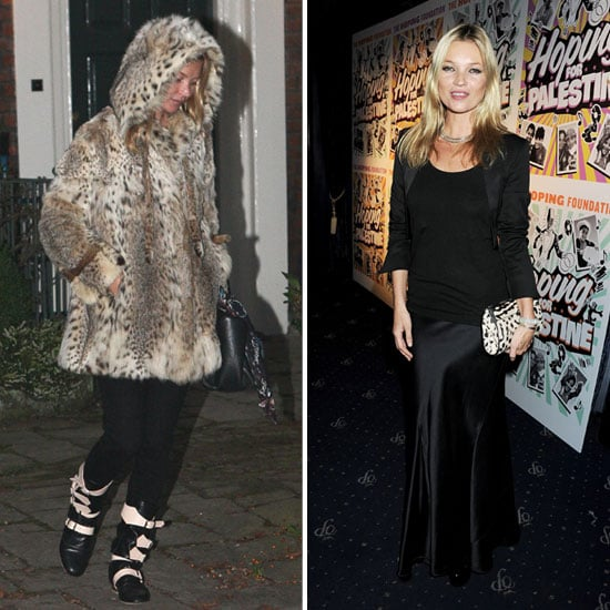Kate Moss With Boy George at Benefit Event Pictures
