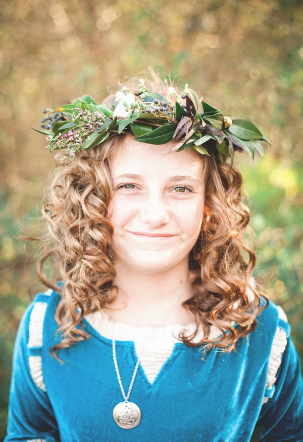 Girl's Princess Merida Brave Photo Shoot