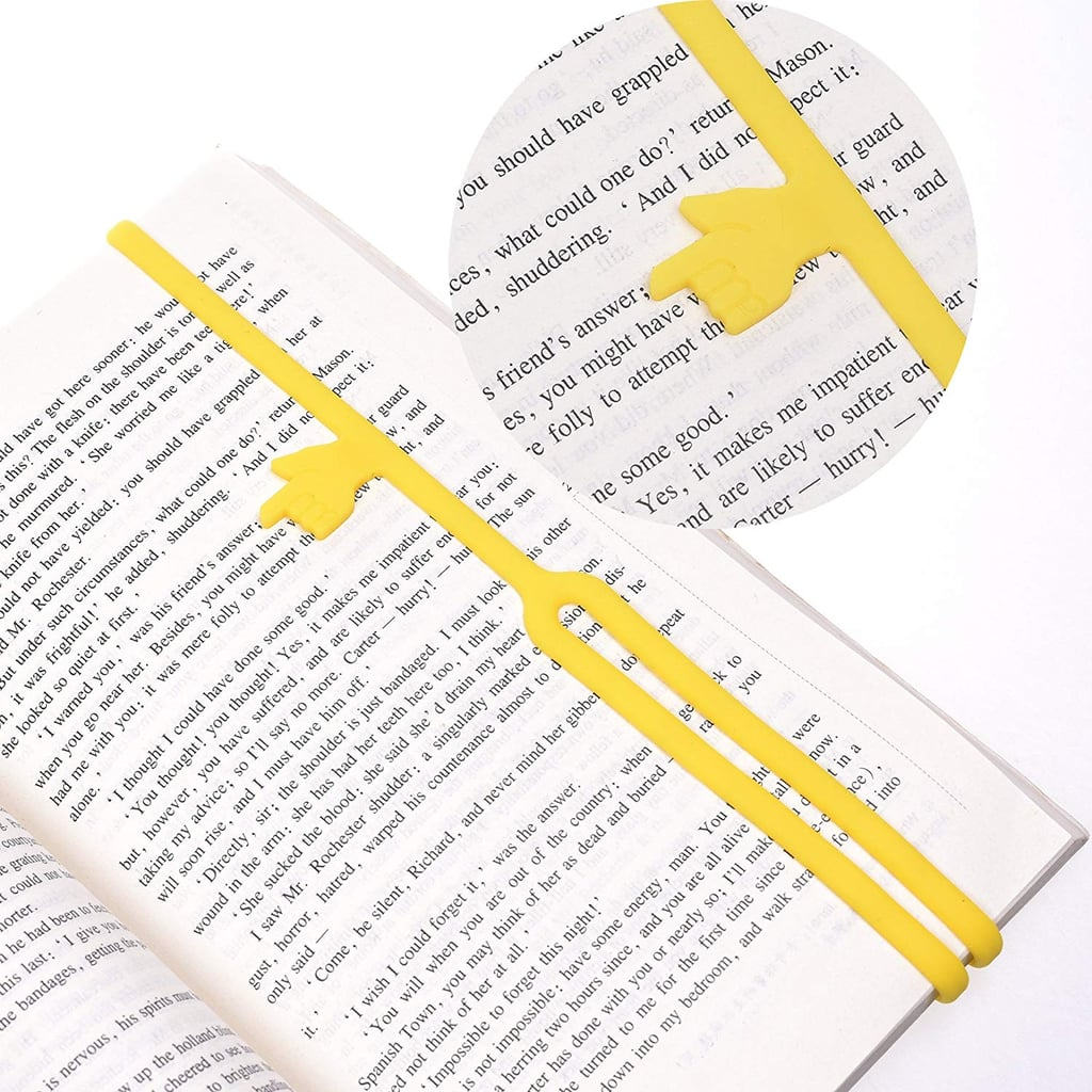 Silicone Finger Point Bookmark