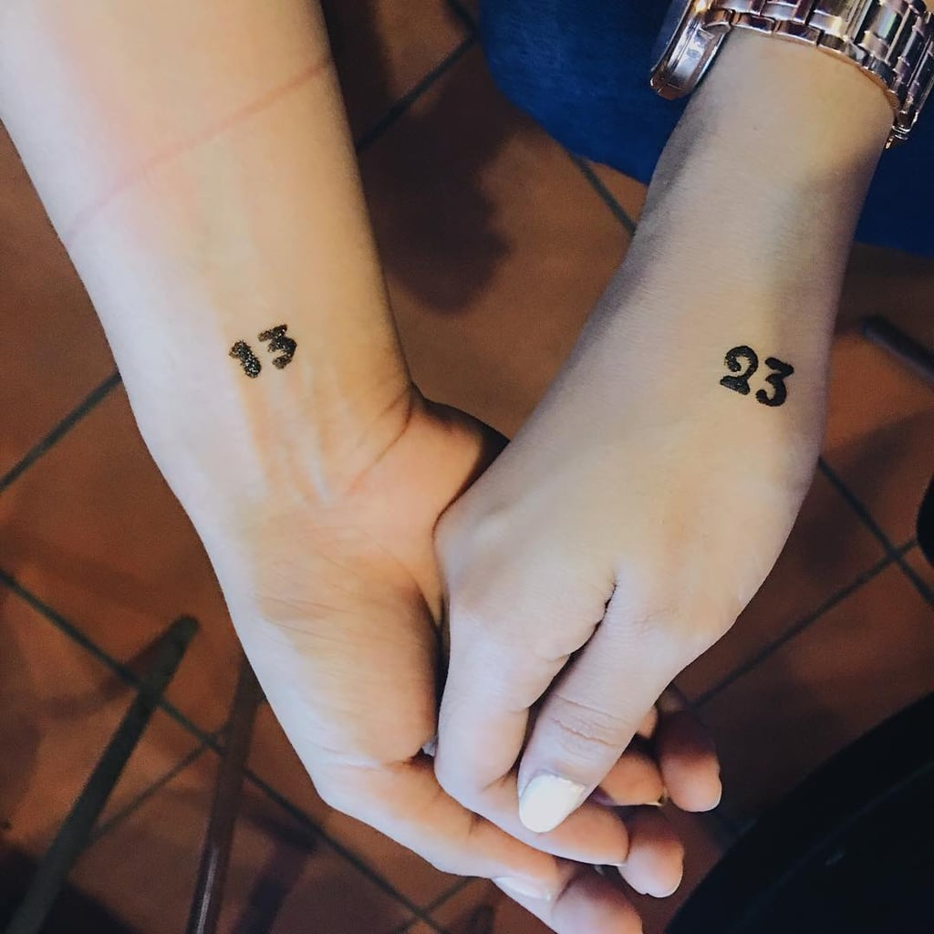 Matching Sister Tattoo Ideas