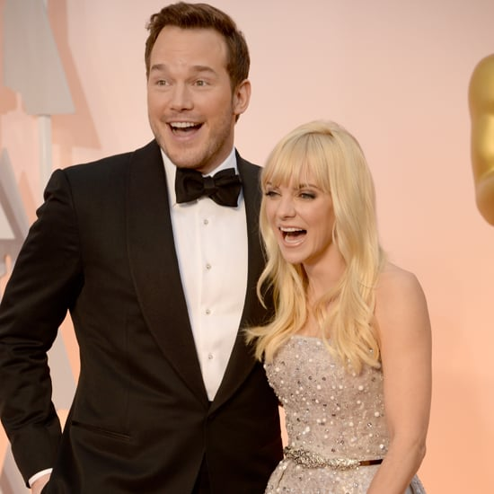 Chris Pratt and Anna Faris at the Oscars 2015 | Pictures