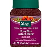 Kneipp Pure Bliss Red Poppy and Hemp Bath Salts (£9)