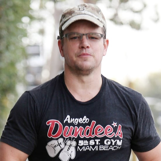 Matt Damon Looking Buff in LA