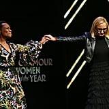 صور من حفل جوائز غلامور لتكريم امرأة العام 2018