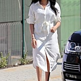 A White Shirtdress in South Africa in Sep 2019