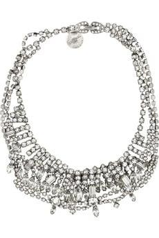 Tom BinnsSwarovski Necklace($495)