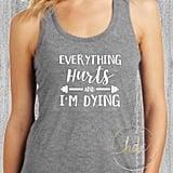 Etsy Women's Funny Gym Shirt
