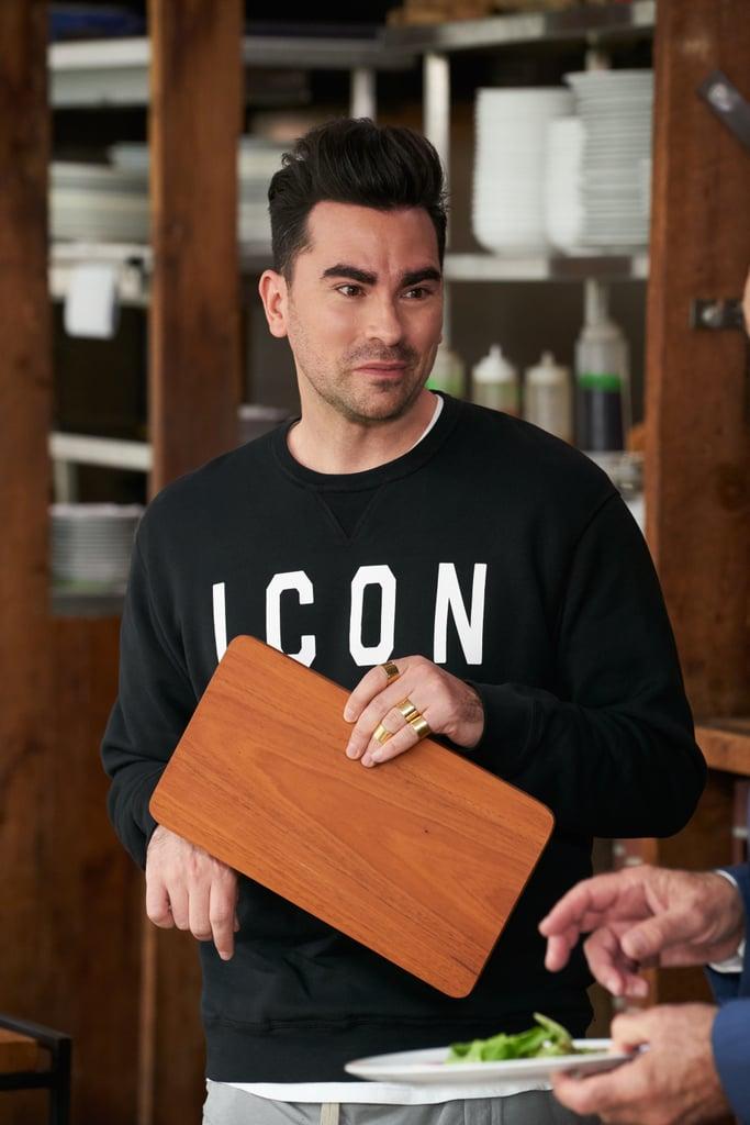 "David Rose's ""Icon"" Sweater on Schitt's Creek"
