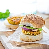 Moroccan Chickpea Sliders With Spicy Harissa Mayo and Mint