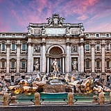 Throw a Coin and Make a Wish in the Trevi Fountain in Italy