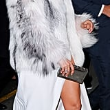 See More Pics of J Lo in Her Elie Saab Dress