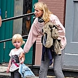 Naomi Watts and Samuel Schreiber out in NYC.
