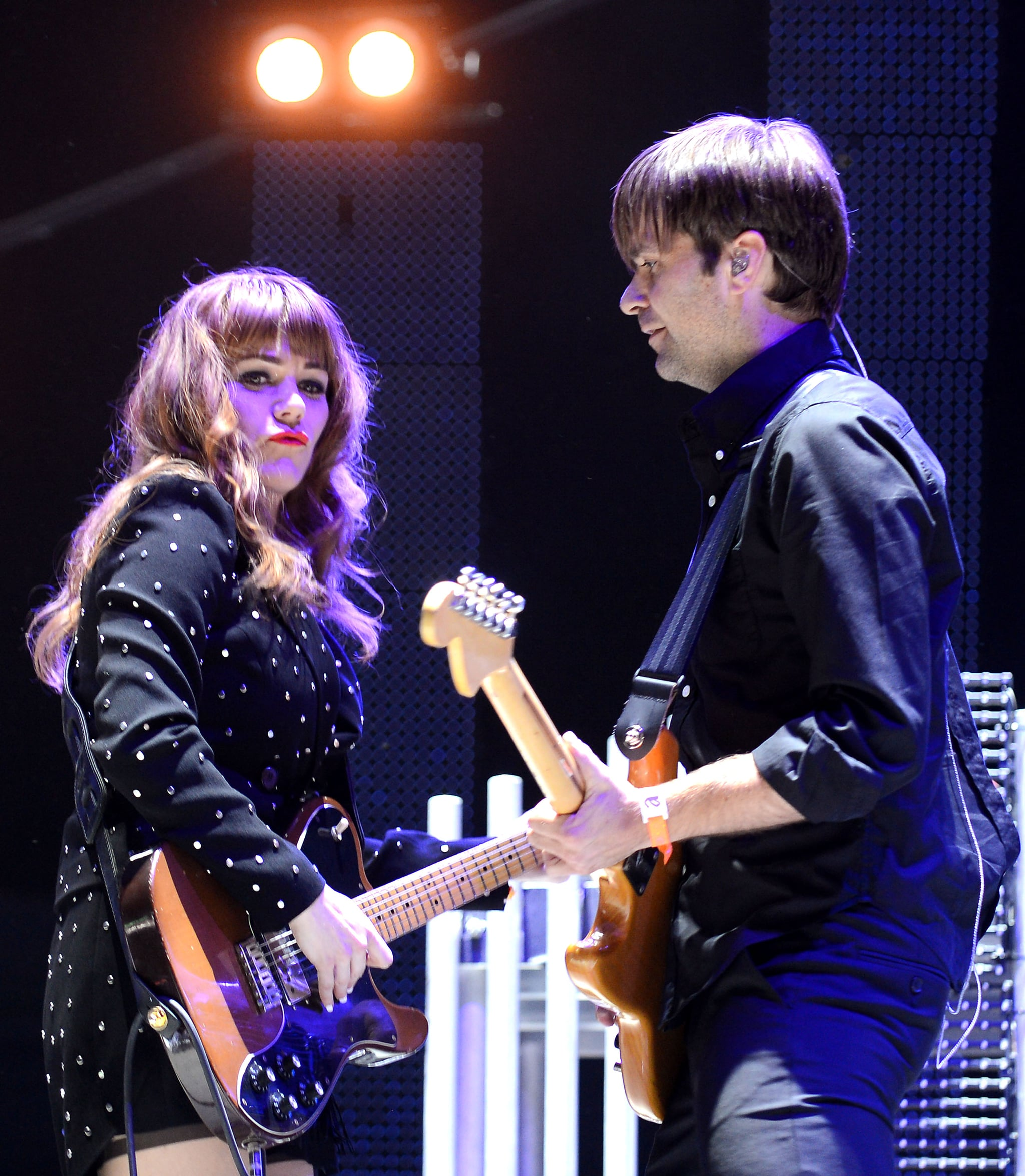 Jenny Lewis And Ben Gibbard Of The Postal Service Rocked Out On