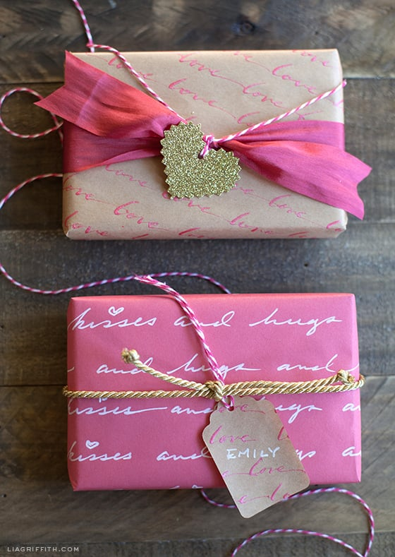 Love Letter Gift Wrap
