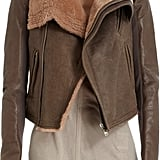 Cozy by default, the warm tones of this Rick Owens jacket ($3,720) make a chilly Winter feel a lot more manageable.