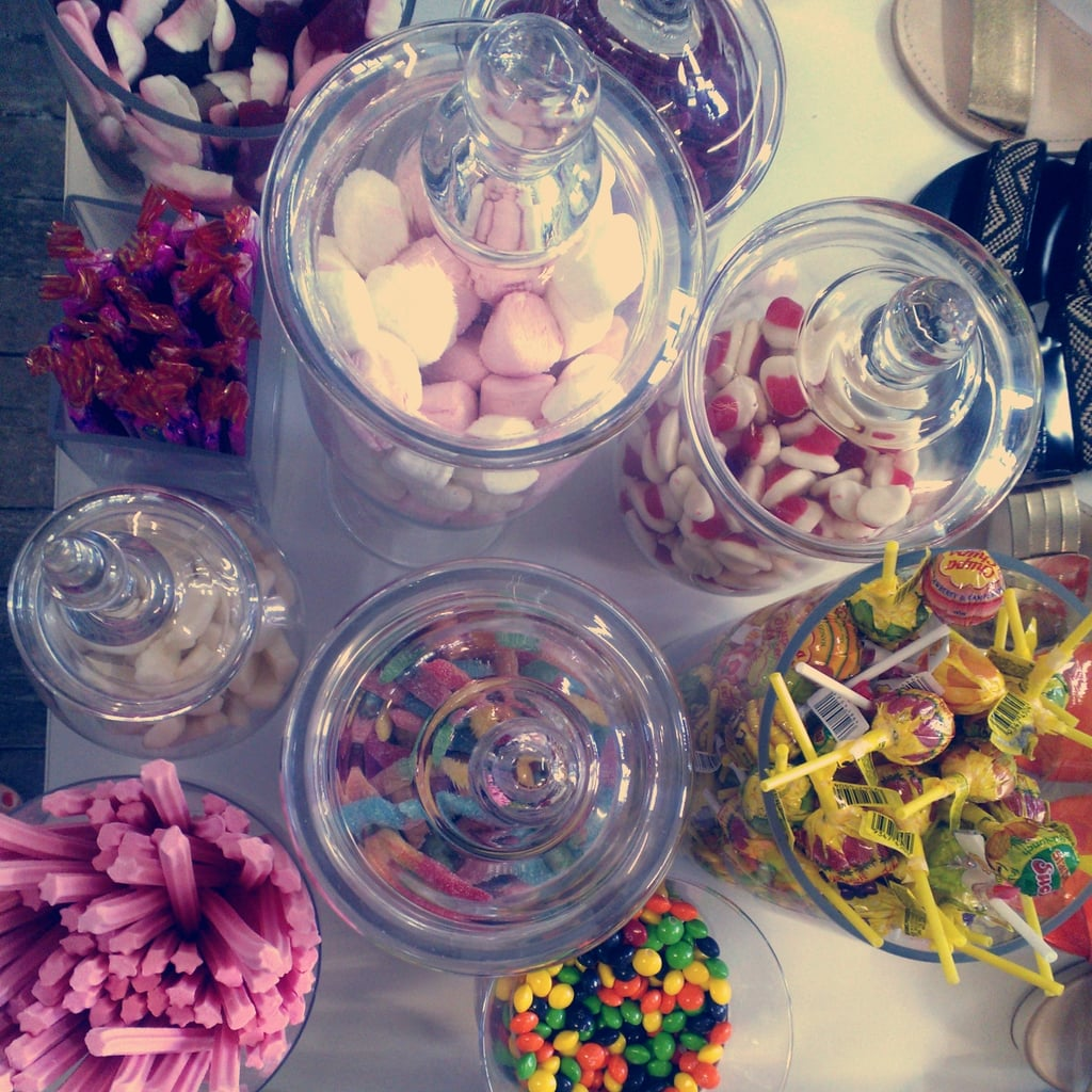 Sweet treats at the PR Department Winter showings! Spoilt? Who, us?