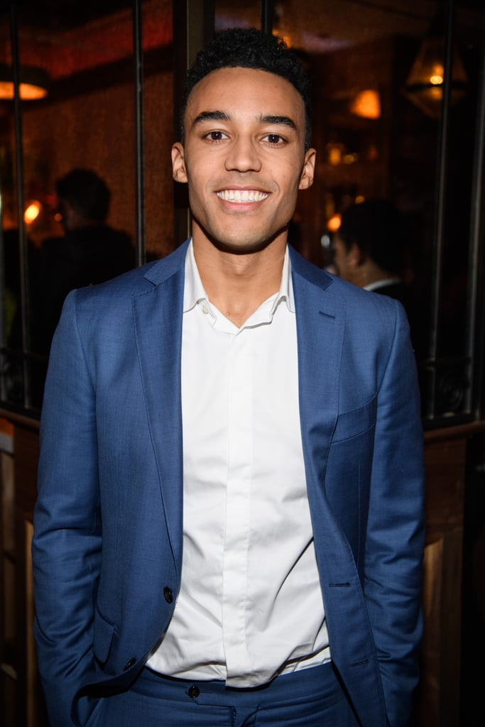 Devon Terrell is garnering praise for his performance as President Barack Obama in the new Netflix movie Barry, which follows a young Obama as he heads to NYC's Columbia University in the Fall of 1981. Not only does the 24-year-old American-Australian newcomer nail the speech, mannerisms, and swagger of our commander in chief, but he also happens to be very, very attractive. Devon stepped out for an NYC screening of his film on Tuesday night, and did not disappoint; he cut a suave figure in a fitted blue suit and posed for photos with director Vikram Gandhi and his girlfriend, artist Stephanie Metea.  Devon is joined in the Handsome Men Who Portrayed the President Club by Parker Sawyers, the equally hot actor who played Barack Obama in Southside With You alongside Tika Sumpter. The film followed Barack and Michelle's first date in the Summer of 1989. It's almost as if these casting directors are acutely aware of how attractive our president is in real life.