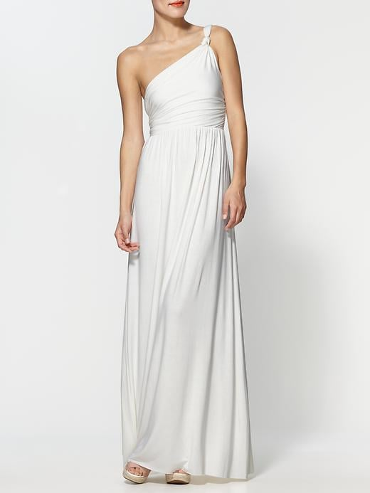Modern with a touch of the Grecian-goddess vibe.  Rachel Pally Kimber Dress ($233)