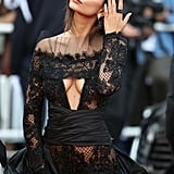 Emily Ratajkowski Is Wearing See-Through Lace Trousers at Cannes Like Only She Can