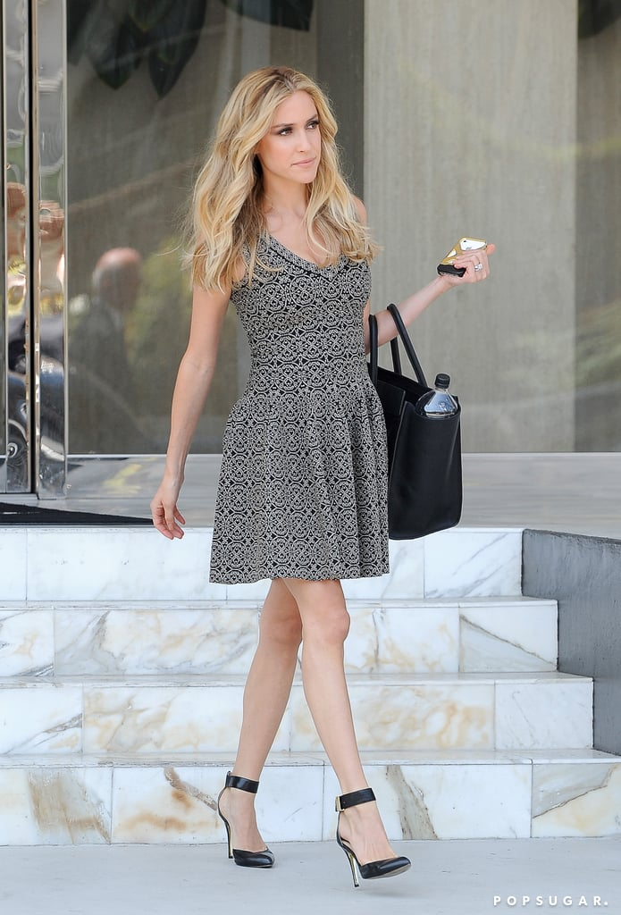 Kristin Cavallari made a picture-perfect exit in LA on Friday.