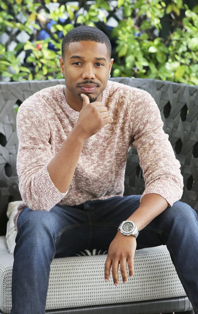 We want to take some time out of our busy schedules to marvel at Michael B. Jordan's hotness. The actor is known for his roles on Friday Night Lights, The Wire, and Parenthood and on the big screen in Fruitvale Station and That Awkward Moment, Creed, and Black Panther. We've rounded up a bunch of his hottest pictures — keep reading for 30 photos of Michael B. Jordan that might make you feel all tingly inside.      Related:                                                                                                           Good Luck Getting Through These Photos of Michael B. Jordan Without Licking Your Screen