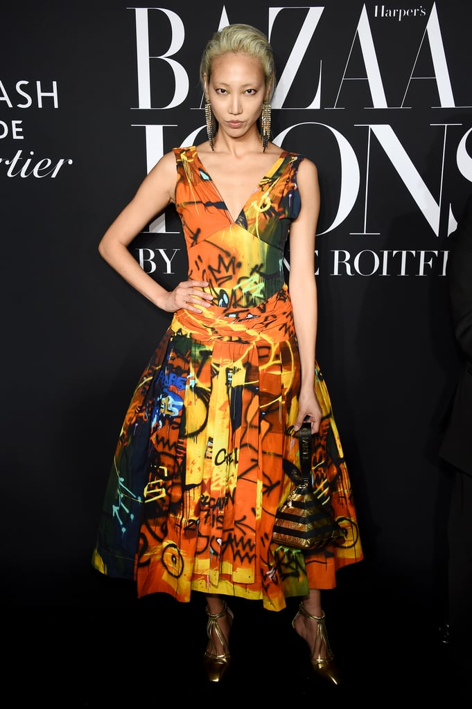 Soo Joo Park at the Harper's Bazaar ICONS Party During New York Fashion Week