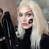 See Bella Hadid With Platinum Blond Hair