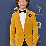 Joe Keery and Gaten Matarazzo at the Emmys 2018