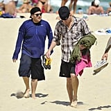 Shirtless Channing Tatum Lets Loose With Jonah Hill in Australia