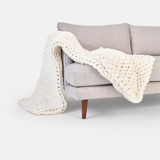 West Elm and Bearaby Weighted Blanket Collection Is Here