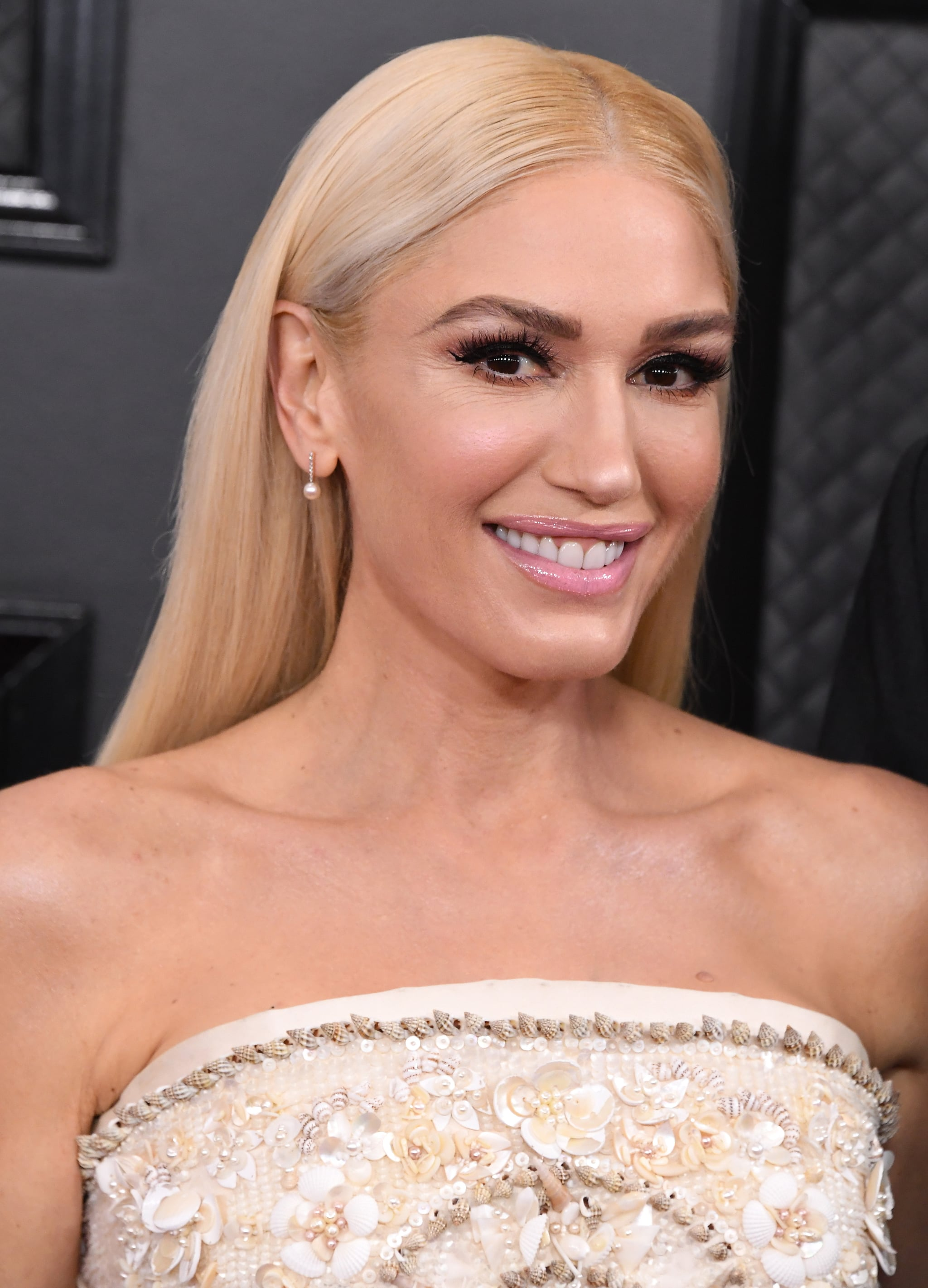 LOS ANGELES, CALIFORNIA - JANUARY 26: Gwen Stefani arrives at the 62nd Annual GRAMMY Awards at Staples Centre on January 26, 2020 in Los Angeles, California. (Photo by Steve Granitz/WireImage)