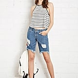 Forever 21 Denim Bermuda Shorts ($25)