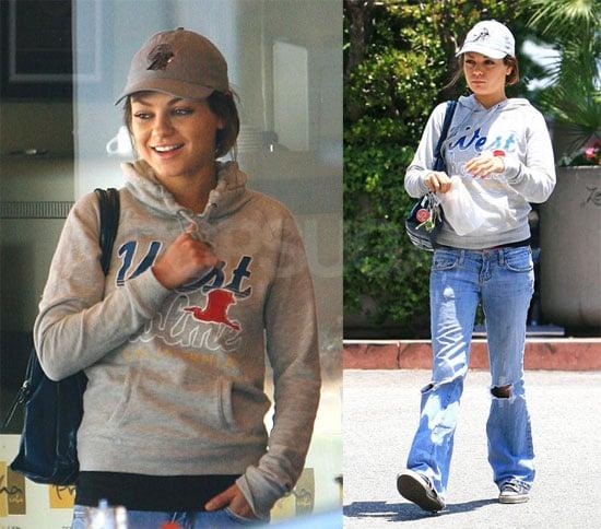 Mila Kunis Runs Errands in LA