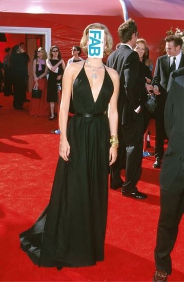 Guess Who Dared To Wear a Plunging Vintage Yves Saint Laurent Dress to the 72nd Academy Awards?