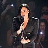 Demi Lovato's Performance Outfit at iHeartRadio Awards 2016